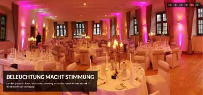 Beleuchtung Event Ambiente
